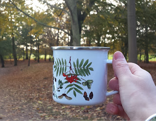 Autumn mug by Alice Draws The Line