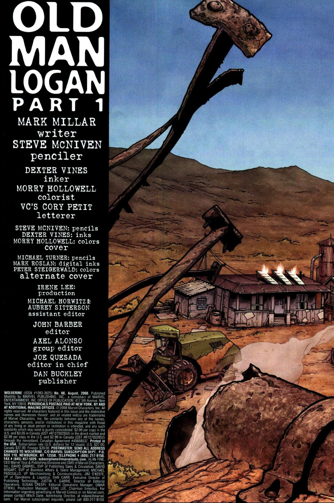 Read online Wolverine (2003) comic -  Issue #66 - 3