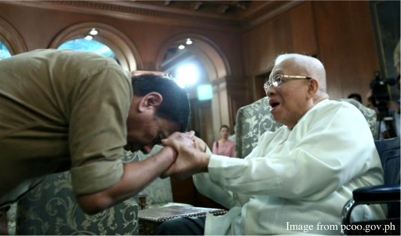 our philippine president mano po to our marinduqueno cardinal