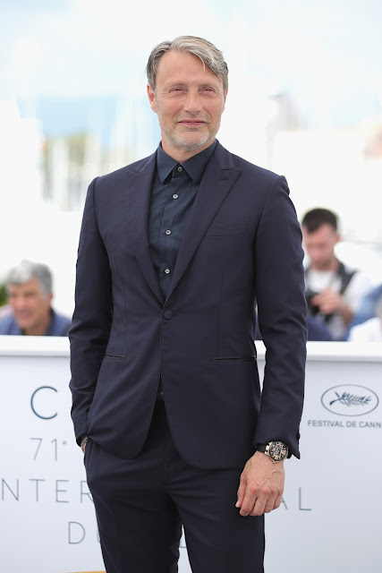 Mads Mikkelsen spotted on red carpet at Cannes wearing Ulysse Nardin masterpiece