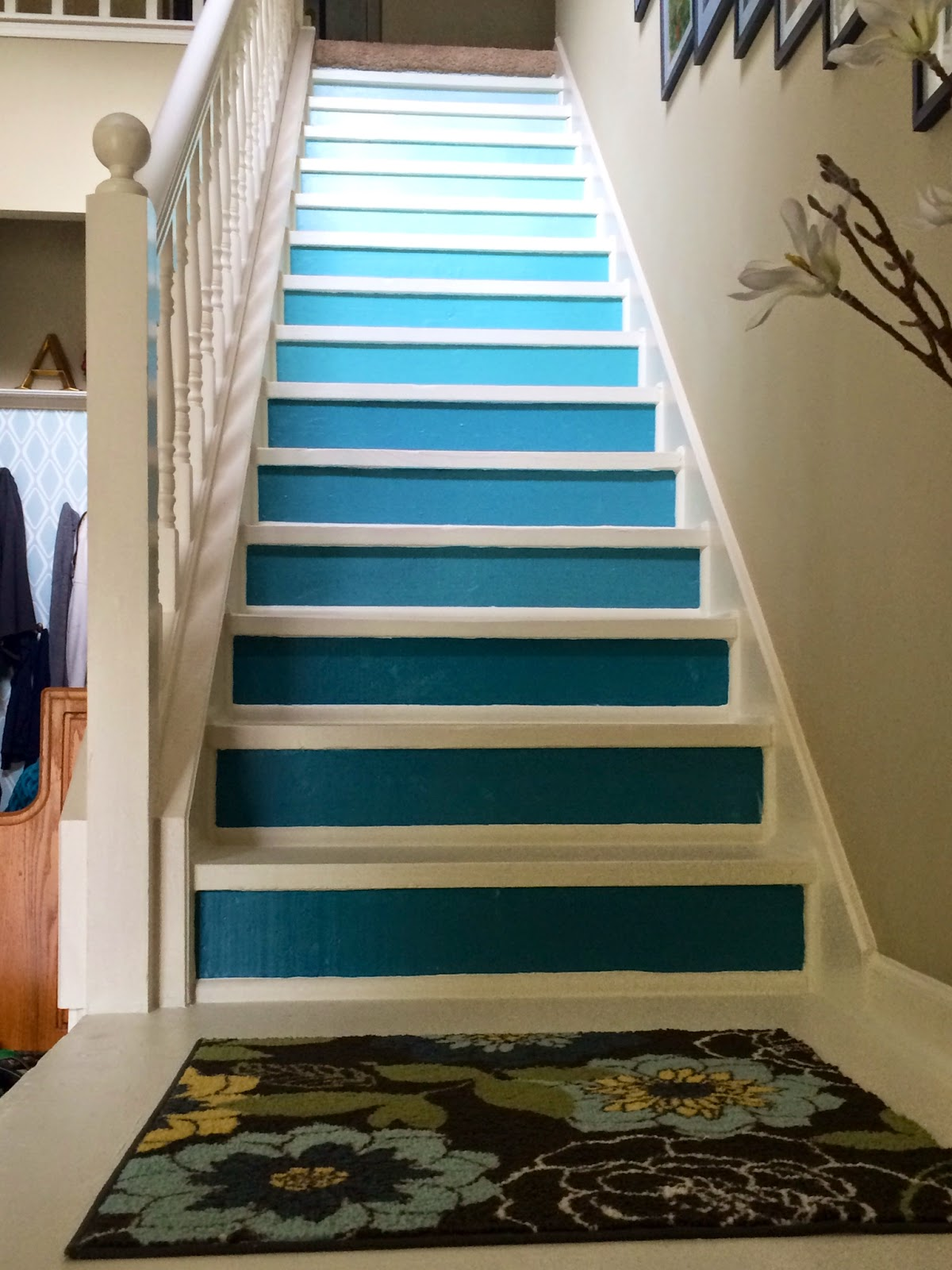 Kitchen Redo Personalized Gifts Sally G. Alexander: Best Mom Tip #190: Refurbish Your Stairs