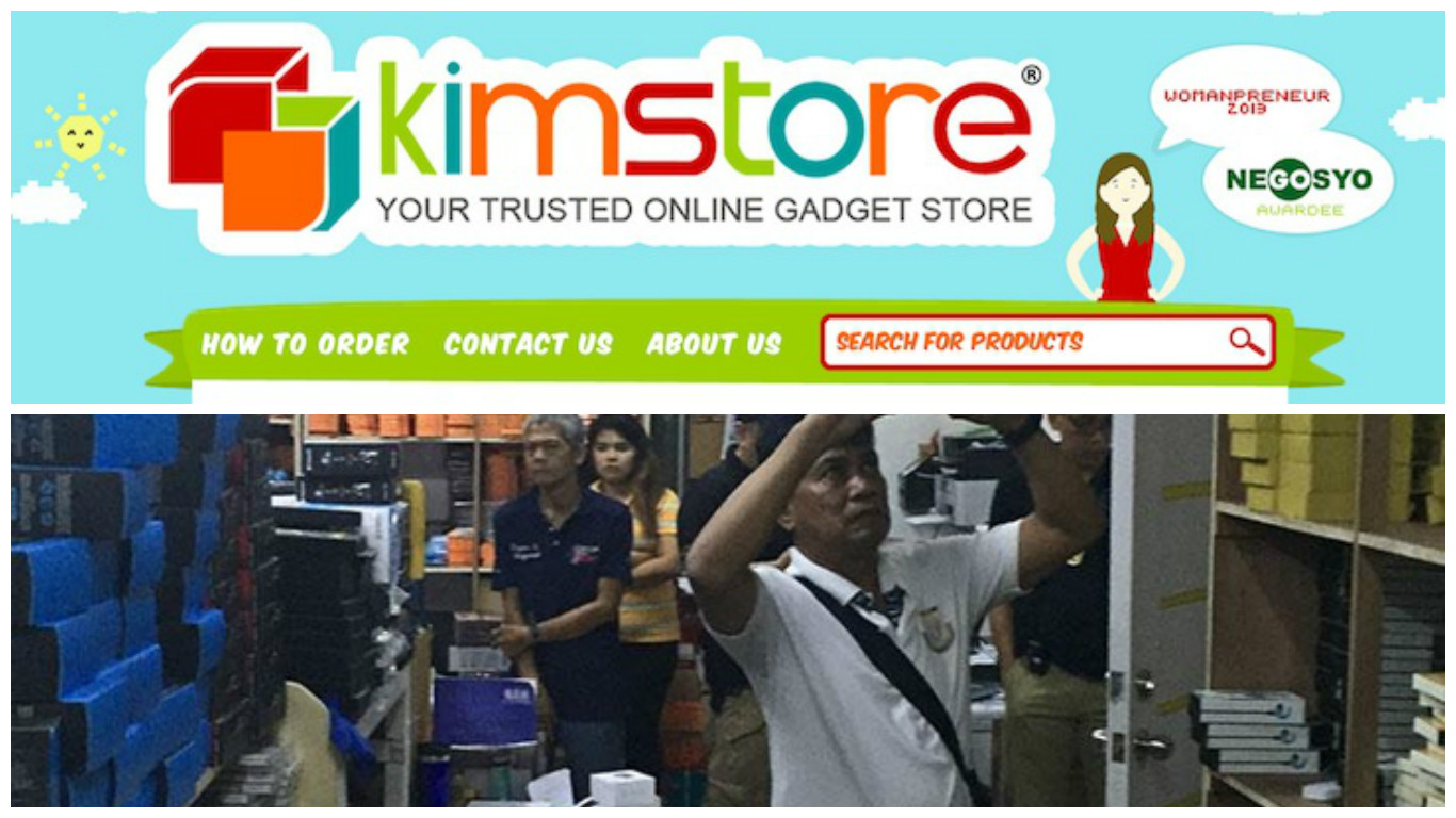 smuggled gadgets seized in Kim Store warehouse raid