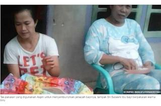 Subhanallah!!!Karena tak Sanggup Sewa Ambulans Ibu Ini Masukkan Jasad Bayinya ke Tas Lalu Naik Angkot