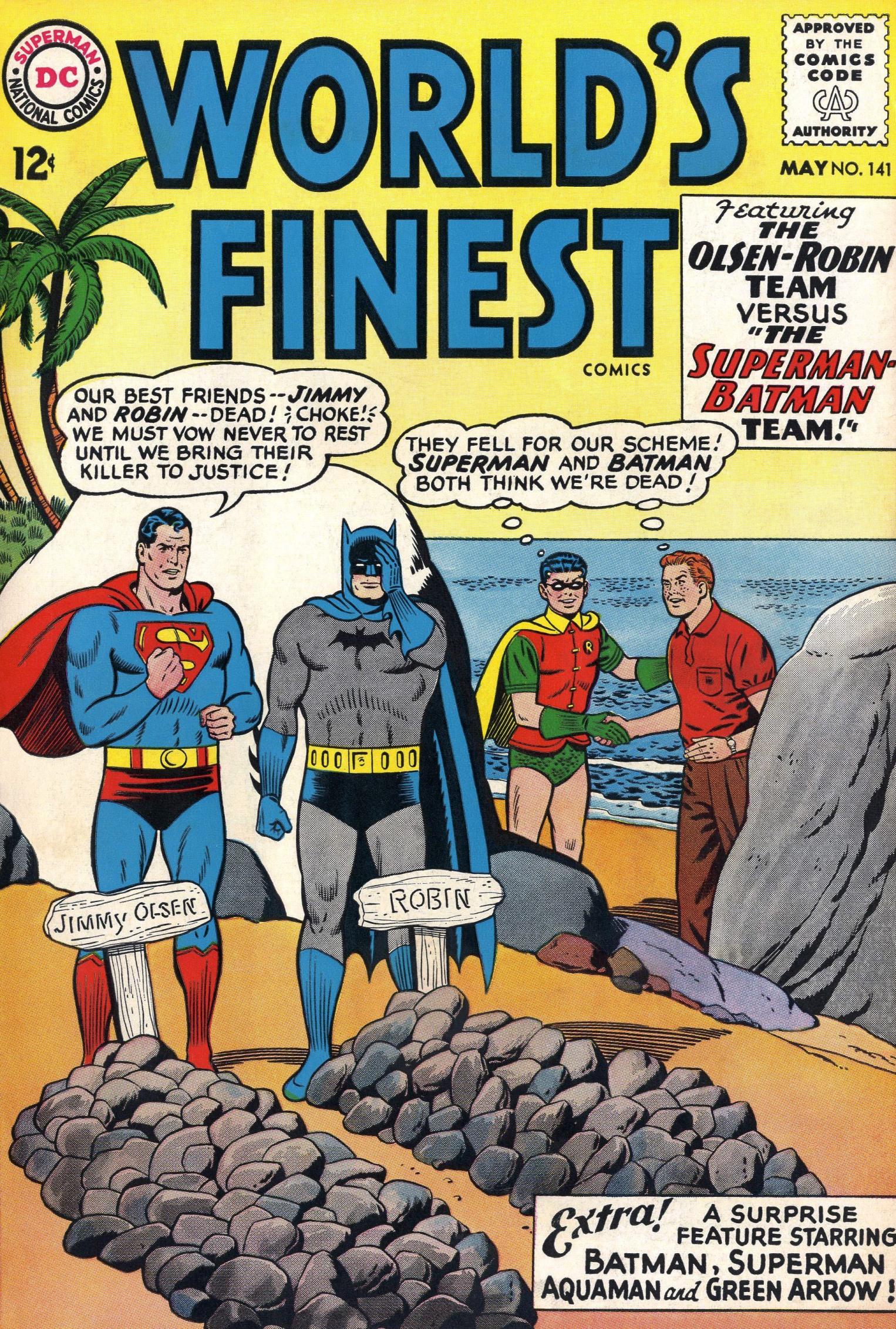 Read online World's Finest Comics comic -  Issue #141 - 1