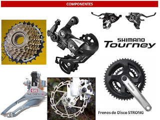 Groupset Shimano Tourney