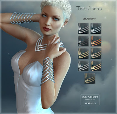 Tethra - Structural Jewelry