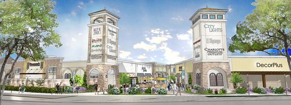 68a94a13bacbd Simon Tanger purchase Charlotte Premium Outlets land for  8.7M