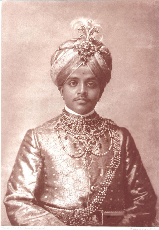 Portrait of an Indian Maharaja