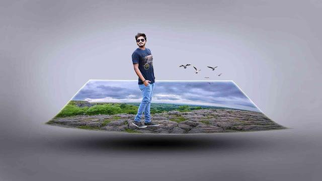 3D Manipulation Picsart Editing Tutorial