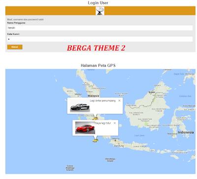 Cara Membuat Aplikasi GPS dengan Web Based Berbasis PHP & Mysql Donwload Source Code Gratis Dari Berga