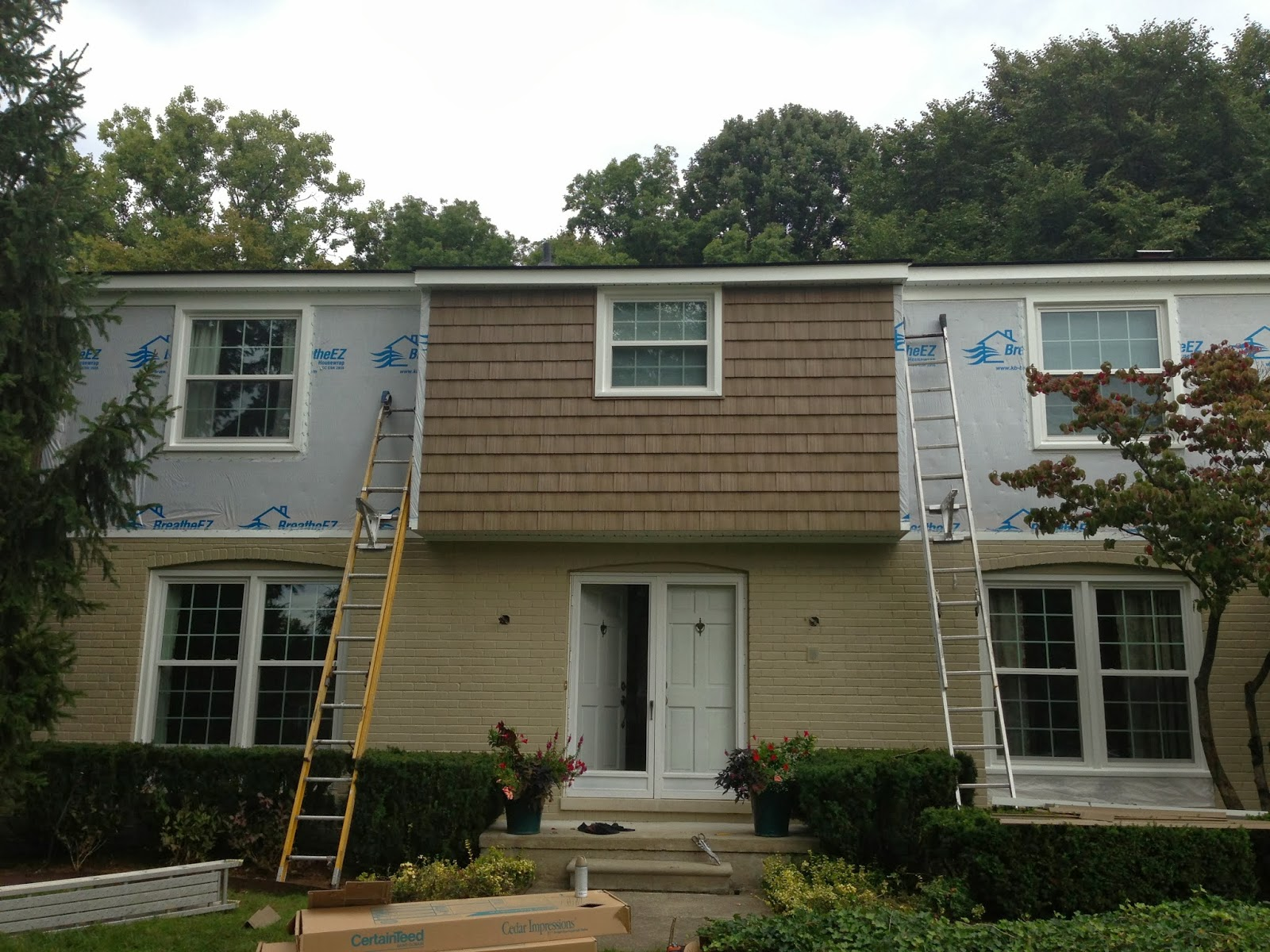 Windows Last Week Siding This Week