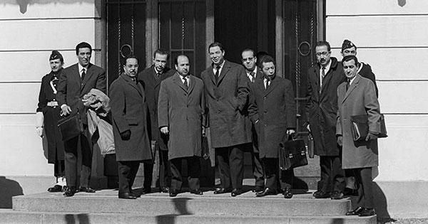 قيام الدولة الجزائرية الحديثة 1962م