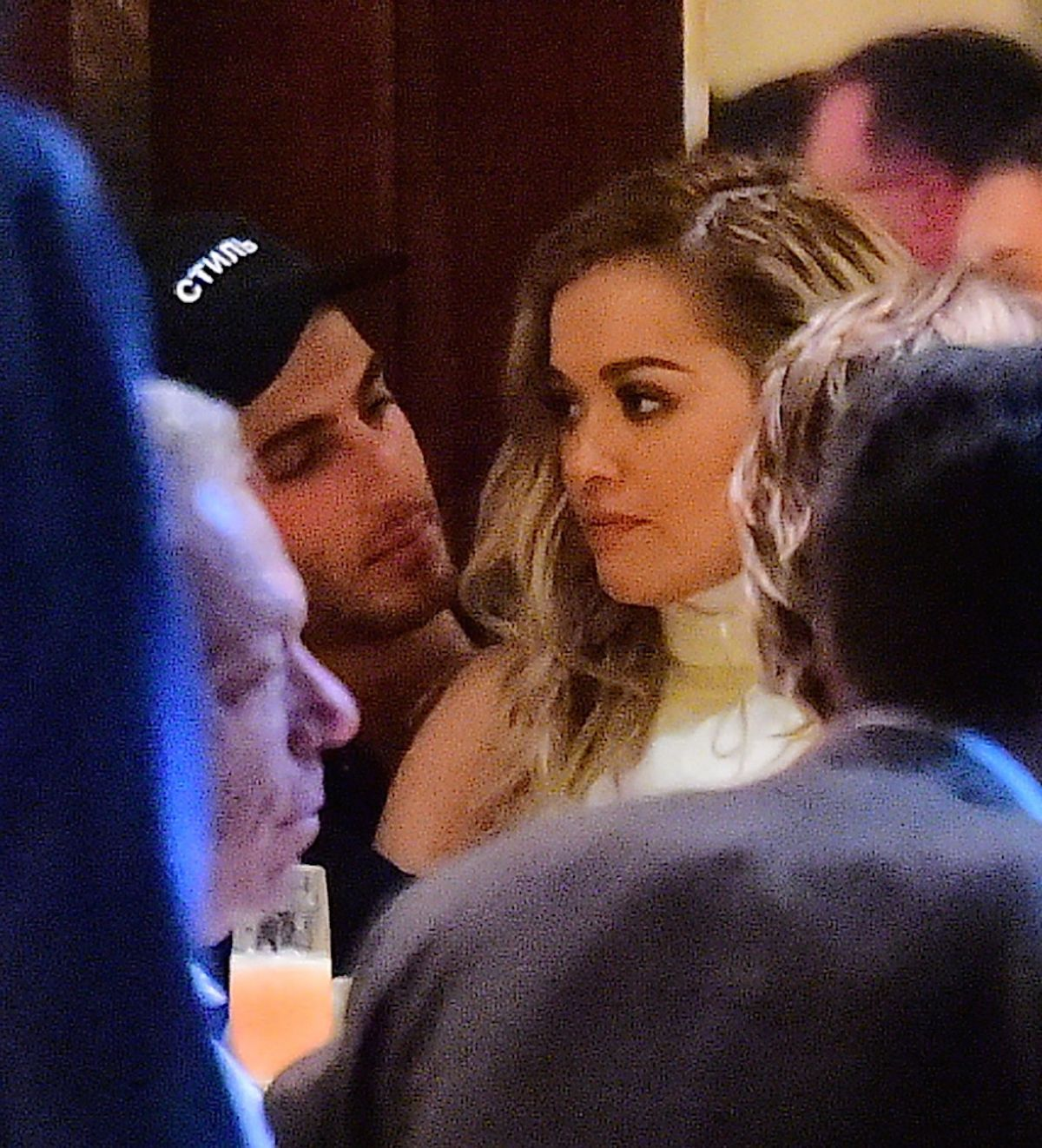 Photos of Rita Ora at a Restaurant in New York