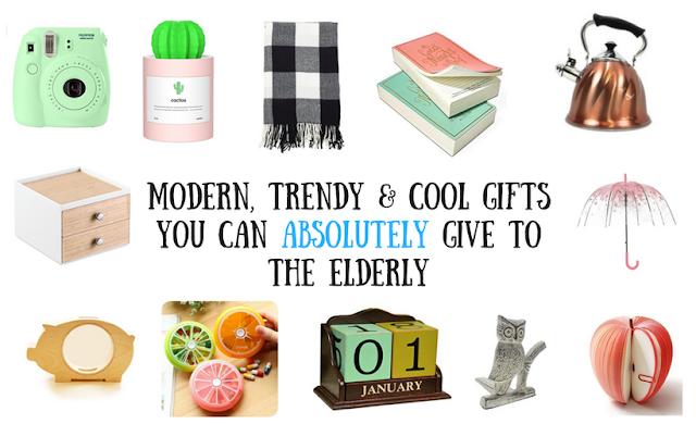 Modern gift ideas for senior citizens