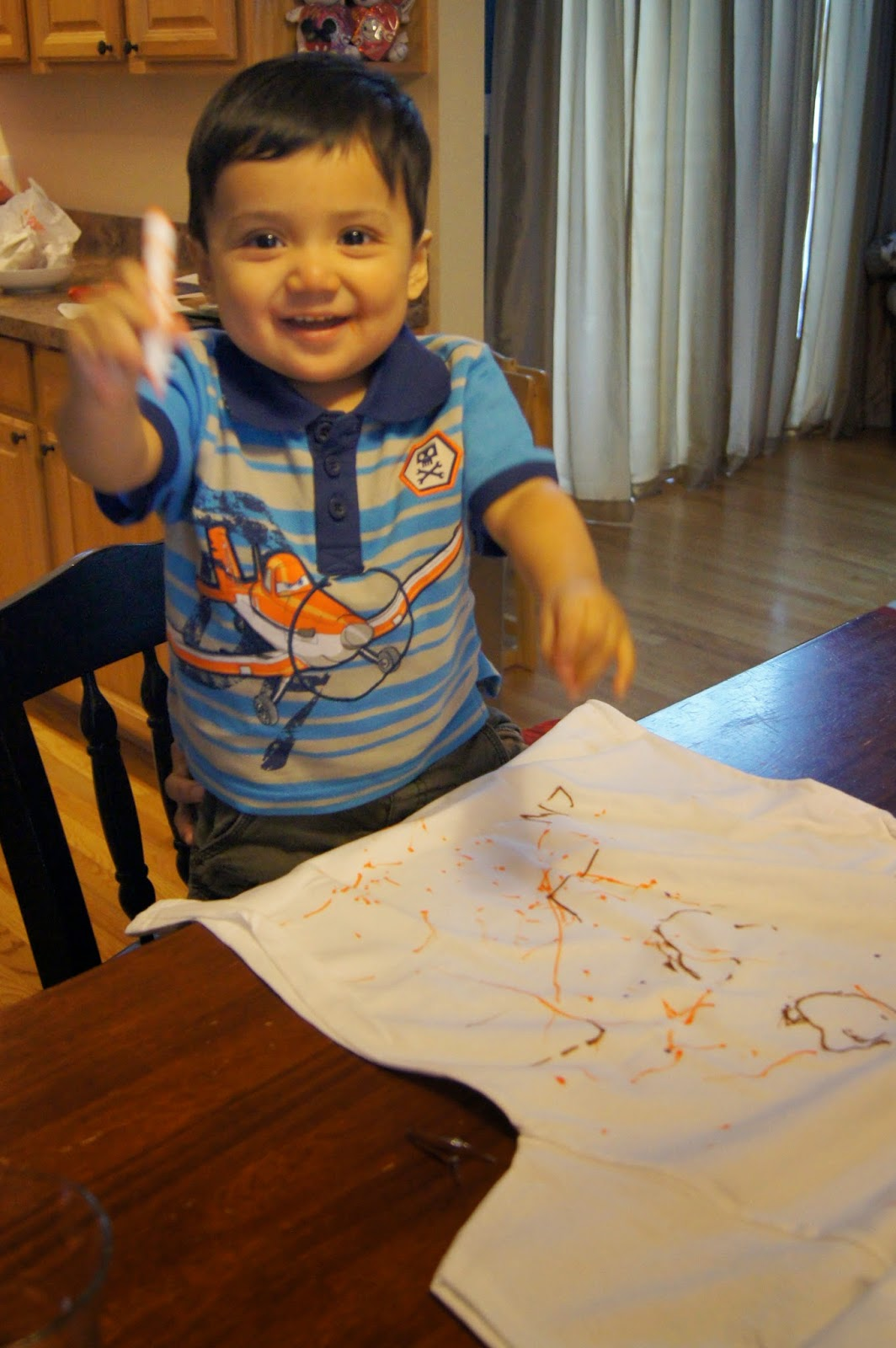 toddler tshirt paint