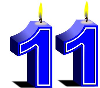 Aniversário, Ponderantes festeja 11 anos