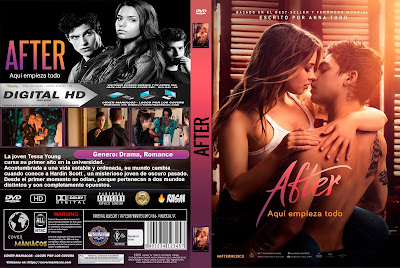 AFTER: AQUI EMPIEZA TODO - AFTER - 2019 [COVER DVD]