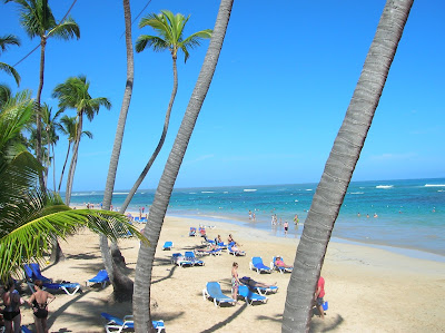 Playa del Hotel Sirenis Punta Cana, vuelta al mundo, round the world, mundoporlibre.com