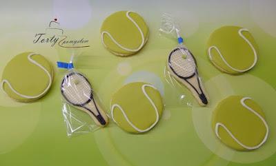 ciasteczka piłeczki tenisowe