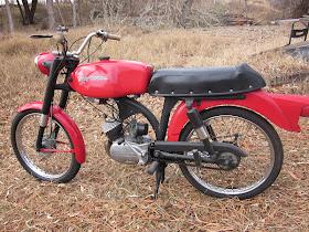 OldMotoDude 1966 Harley Davidson Aermacchi M50 Sport