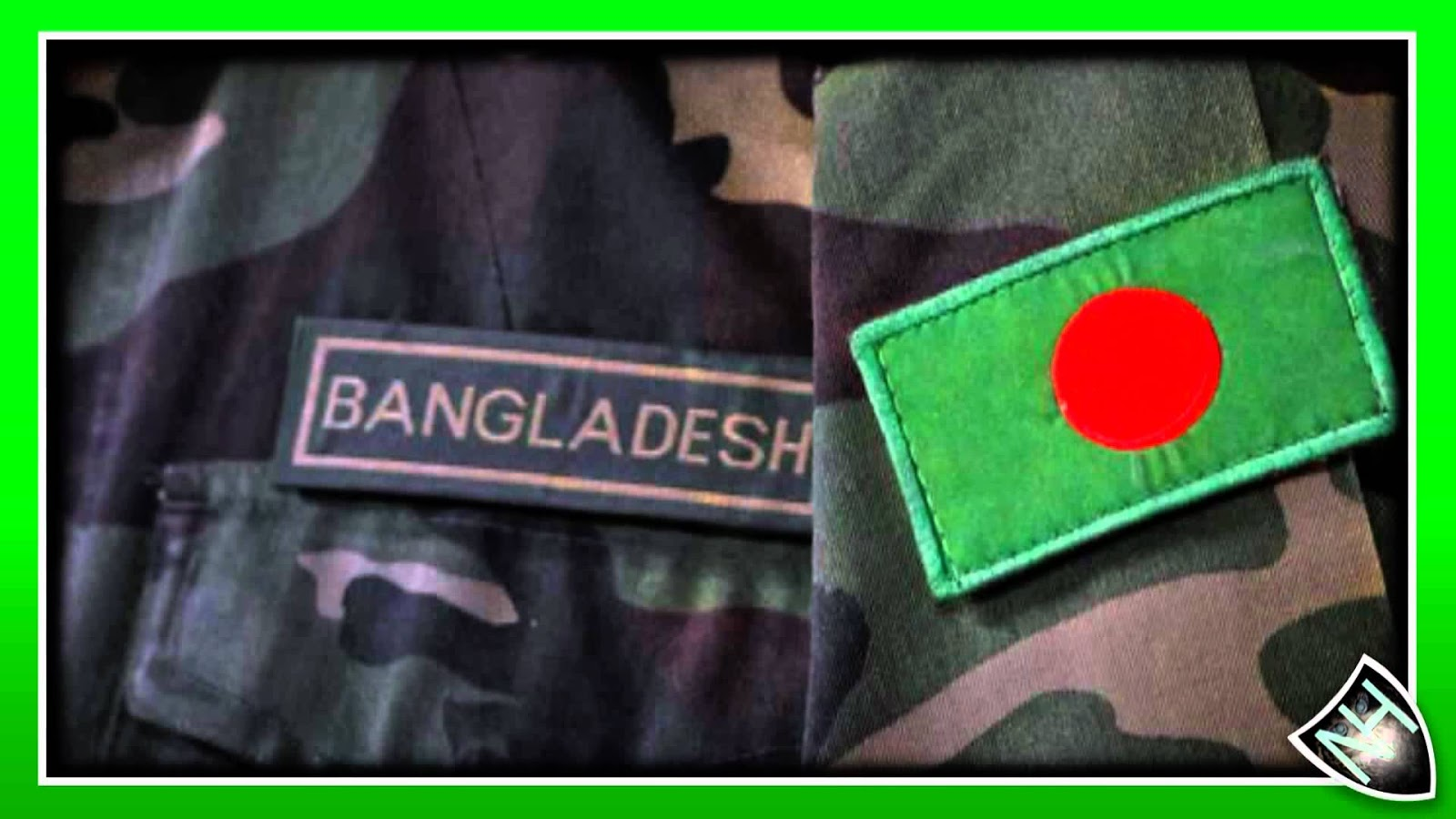 bangladesh flag in badge