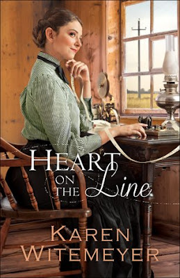 Heidi Reads... Heart on the Line by Karen Witemeyer