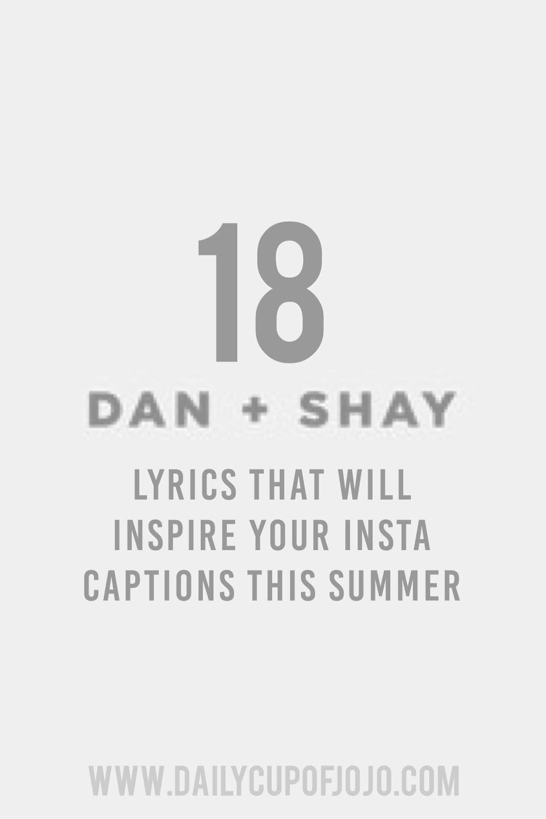 18 Dan Shay Lyrics That Will Inspire Your Instagram Captions This