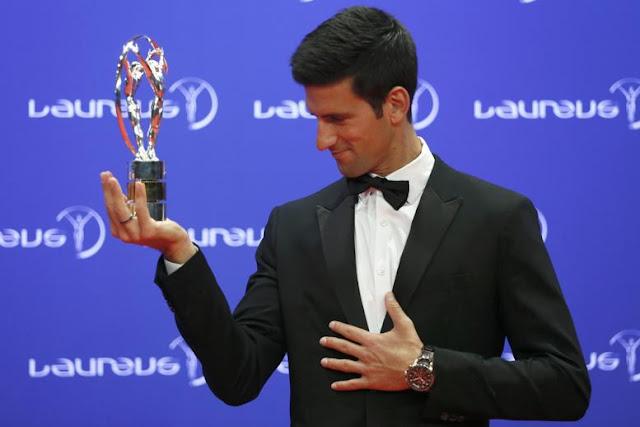 Djokovic venció a Messi en los Laureus