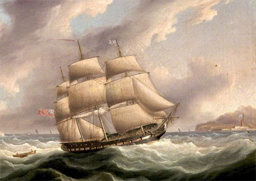 """""""Корабль Ее величества"""" Dartmouth. 17-й век"""