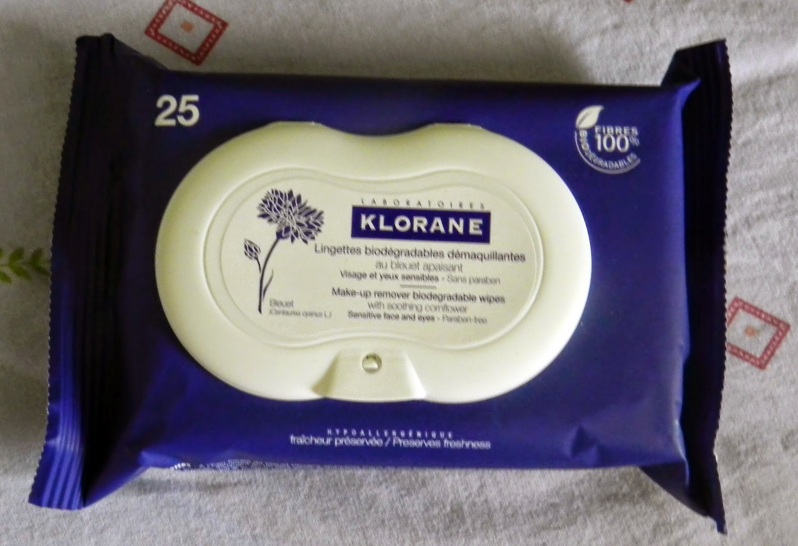 Klorane Make up Remover wipes