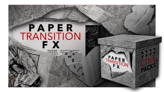 CINEPACKS – Paper Transition FX