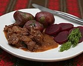 Beef Stew with Cranberries (Swedish Kalops)