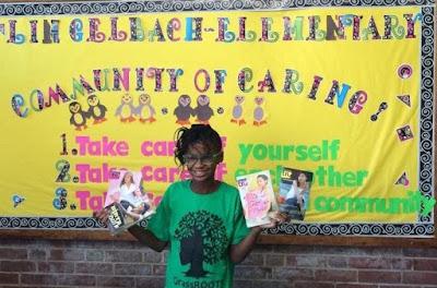 Una niña de once años lanza una campaña para leer libros con protagonistas negras