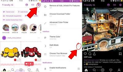 Cara Mengaktifkan Dark Mode/Mode Malam Di Instagram Android