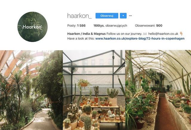 Haarkon- roślinne inspiracje