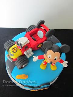 modelagem Mickey e os Super Pilotos