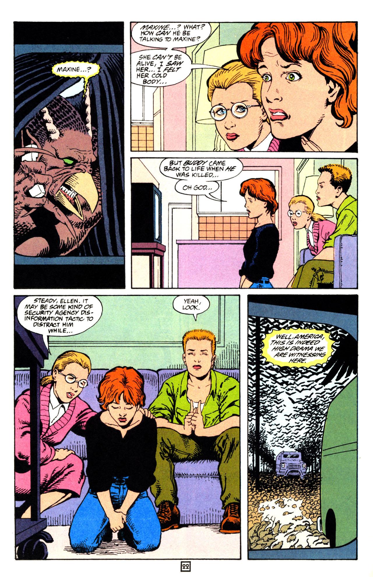 Read online Animal Man (1988) comic -  Issue #71 - 23