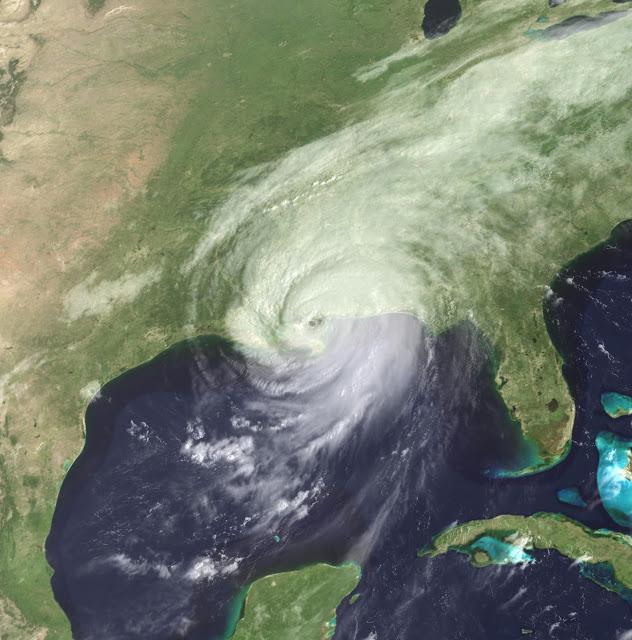 Signs and wonders! Katrina, Gustav, Isaac and Harvey all made landfall on the 29th of August  Katrina_2nd_landfall