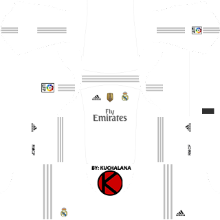 Real Madrid Kits 2015/2016 - Dream League Soccer