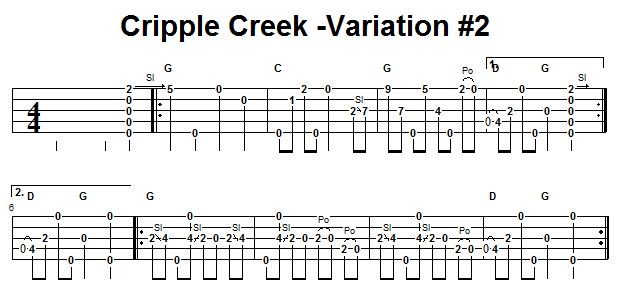 Banjo cripple creek banjo chords : Banjo : banjo tablature cripple creek Banjo Tablature Cripple plus ...