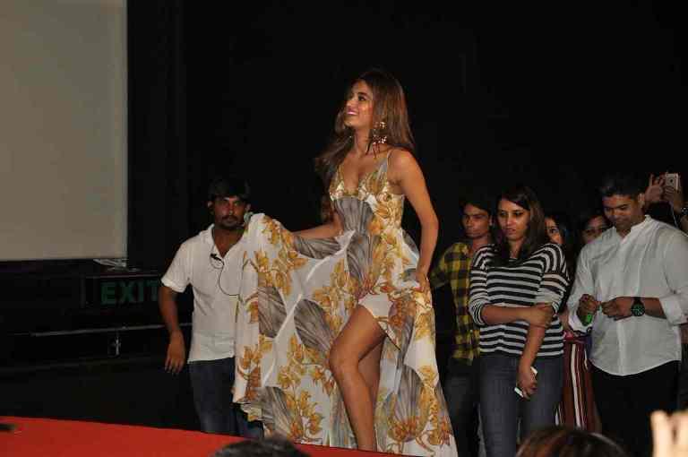 Nidhi Agarwal at Munna Michael Movie Trailer Launch Stills