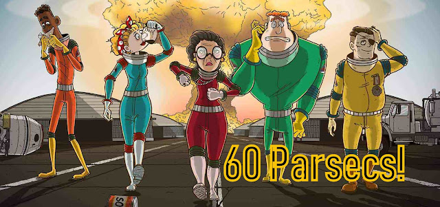 60 parsecs! bannière