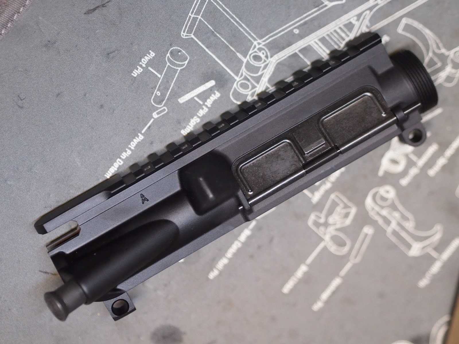 Mister Donut's Firearms Blog: Some parts for the future Mk12 build