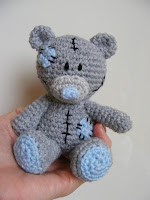 amigurumi beer, me-to-you, tatty teddy haken
