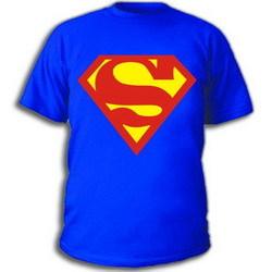 майка с знаком супермена