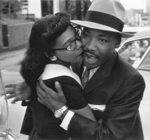 Martin Luther King Jr And Coretta Scott King