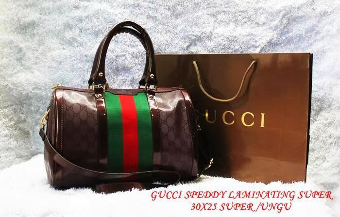 Tas brand gucci model speeddy bahan kulit laminating harga murah online.  toko fashion wanita online di jakarta. SILAHKAN KLIK GAMBAR UNTUK UKURAN  YANG LEBIH ... 314e517c5d