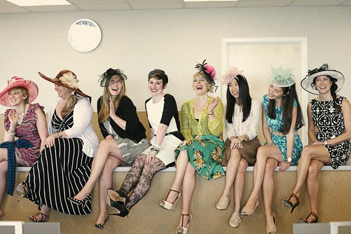 Kentucky Derby attire | Derby hats Nordstrom | Ann Johnson, Kim Aber, Sarah Allen, Kellie DeFrank, Angela Snyder, Danielle Noah, Amy Jang, Vanessa Nelson, Mike Adams