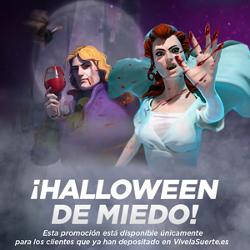 vivelasuerte sorteo de 1.065 euros Halloween hasta 2 noviembre