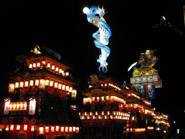 Toro Yama Matsuri (tower float festival), Suzu City, Ishikawa